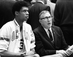 Kareem Abdul-Jabbar and Coach Wooden