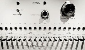 The shock generator used in the Milgram experiment
