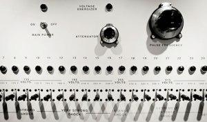 The shock generator used in the Milgram experiment