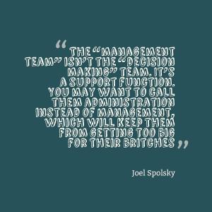 Joel Spolsky Quote